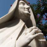 """Statua marmorea della """"Domus Dei"""""""